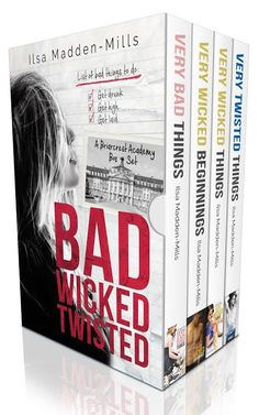 Cover Reveal:: Bad Wicked Twisted by Ilsa Madden-Mills