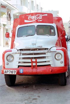 1982 Coca Cola delivery truck in Cyprus