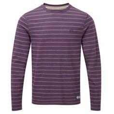 Tog 24 Plum dark grey dakota long sleeve t-shirt 8b315dd2b