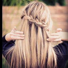 PLANET BLUE: nye hair inspo: braids on braids on braids