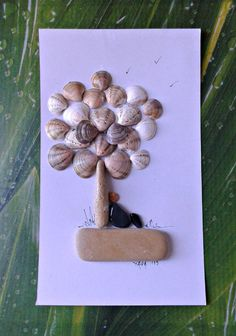 Relaxation Pebble art by Hara