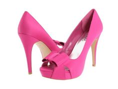 Hot Pink Pumps for Women this is what i want for my bridesmaids, just without the bow