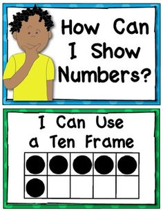 (sample page) Kindergarten Common Core Number Strategy Posters: {Math Word Wall). $
