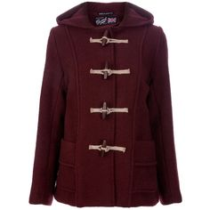 Gloverall Classic duffle coat ($465) ❤ liked on Polyvore