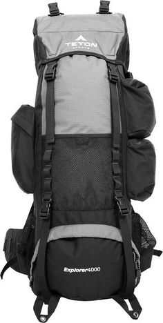 e3cf4987d3 Amazon.com   TETON Sports Explorer 4000 Internal Frame Backpack  Great  Backpacking Gear  Backpack for Men and Women  Hiking Backpacks for Camping  and ...