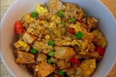 Chicken Fried Rice - 21 Day Fix and 21 Day Fix Extreme Approved- Dana Nicole Fitness