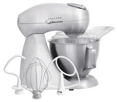 Hamilton Beach 63220 Electrics All-Metal Stand Mixer - Sterling - Mixers at Hayneedle