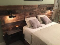Rustic Headboard, Re