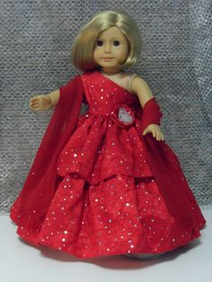 Evening Elegance for your American Girl doll by CarmelinaCreations, $40.00