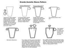 """How to pattern the grande assiette sleeve. Thanks, Charles Mellor. (Even so, I'm still """"Ugh, math."""" But at least it'll be math that leads to a pretty sleeve if I can force the numbers to do my will. Norse Clothing, Clothing And Textile, Medieval Clothing, Historical Clothing, Historical Costume, Medieval Dress, Medieval Fashion, 14th Century Clothing, Medieval Pattern"""