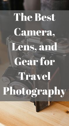 The best camera, lens, and gear for travel Photography by the Divergent Travelers Adventure Travel Blog. Click to read more at http://www.divergenttravelers.com/photography-gear-every-adventure-traveler-should-carry/