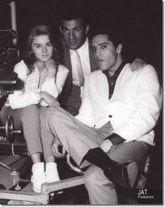 Elvis Presley and Ann-Margret on the set from the Viva Las Vegas Hardcover Book