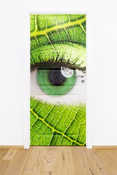Fototapeta / naklejka na drzwi w dowolnym formacie - oko.