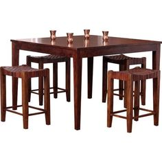 lynwood 3 pc drop leaf table with rush seat stool products solid rh pinterest co uk