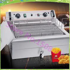 836.60$  Buy now - http://alib84.worldwells.pw/go.php?t=32757498444 - Wholesale products commercial timing temperature control single cylinder 20 L large capacity fried chicken machine