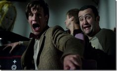 The Doctor and Alex. Aaaugh!! #doctorwho