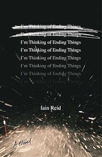 Iain Reid's I'm Thinking of Ending Things is a recommended psychological thriller book to read for Halloween.