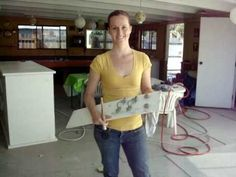 how to paint furniture that has formica or other dificult finishes on it