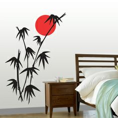The Bamboo.Silhouette Design.in Adorn your wall with Silhouette Design and see the change in your decor. The most easy way to enhance your space.   mail us at:- info.silhouettedesign@gmail.com