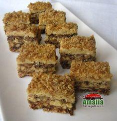 Prajitura Faur Hungarian Cake, Hungarian Recipes, My Recipes, Cookie Recipes, Dessert Recipes, Poppy Cake, Romanian Food, Just Eat It, Food Cakes