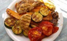 Grill zöldségek panini sütőben | Gyöngy Harmony Stúdió Zucchini, French Toast, Grilling, Meat, Chicken, Vegetables, Breakfast, Food, Beef