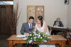 Helen and Inayat's real life wedding at Dodmoor House - Signing the register | CHWV
