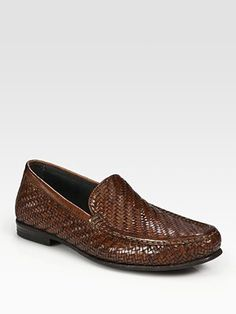 To Boot Brown Woven Leather Loafers for men Mens Leather Loafers, Loafers Men, Leather Shoes, Me Too Shoes, Shoes Sandals, Dress Shoes, To Boot New York, Only Shoes, Brown Boots