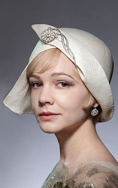 Hat designed by Rosie Boylan for The Great Gatsby...