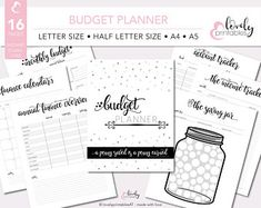 Personal Budget Planner Finance Printable Budget Planner | Etsy Budget Planner, Money Planner, Monthly Budget, Personal Financial Planner, Financial Budget, Simple Budget Template, Planner Pages, Printable Planner, Planner Organization