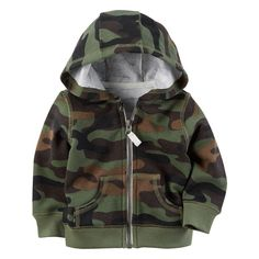 Carters Baby Boys Camo Cardigan 3 Months -- Continuously the product at the image web link. (This is an affiliate link). Baby Boy Camo, Baby Boy Tops, Camo Baby Stuff, Carters Baby Boys, Toddler Boys, Baby Boy Sweater, Baby Coat, Fleece Cardigan, Sweater Hoodie