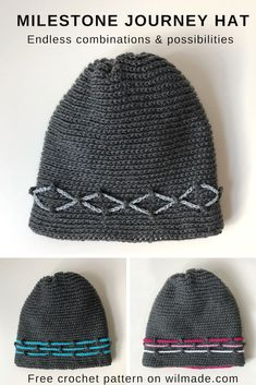 074ad3e6526 460 best Crochet me a Hat images on Pinterest in 2018