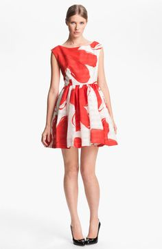 Alice + Olivia Print Dress! Accessorizing is very important for Your Personal Look! Island Heat Products www.islandheat.com today's clothing Fashions and Home Goods with Great Family Gift Idea's.