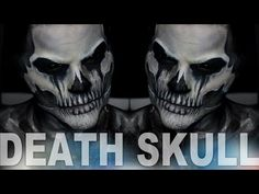 Four Horsemen Death Skull Makeup Tutorial   Alex Faction - YouTube