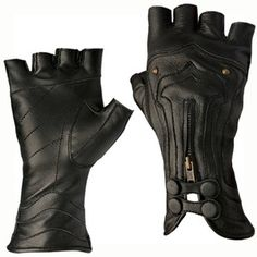 Steam Trunk Archery Leather Gloves (?)
