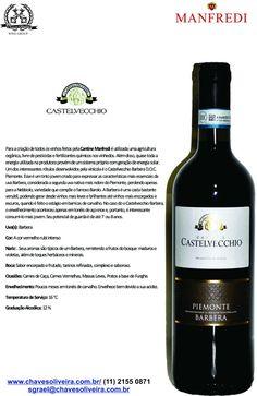 Castelvecchio Piemonte Barbera  www.chavesoliveira.com.br / ( 11 ) 2155 0871 — sgrael