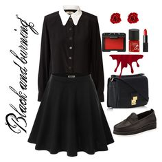 """Black and Burning"" by yuni-cahya on Polyvore"