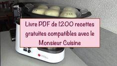 télécharger le livre de 1200 recettes compatible avec Monsieur Cuisine