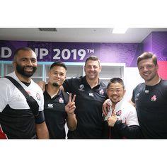 Japan RugbyはInstagramを利用しています:「#RWC2019 南アフリカ代表戦後のロッカールームにて🇯🇵🇿🇦✨ #あの熱狂をもう一度」
