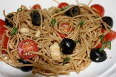 Simply Made...with Love: Tomato Basil Mozzarella Pasta