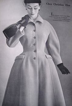 Anne is wearing Christian Dior, 1952 | Flickr - Photo Sharing!