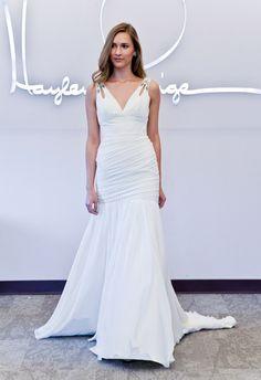 Keyhole Strap Wedding Dress | Blush by Hayley Paige Fall 2014 | The Knot Blog