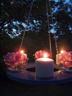 Make It! A Romantic Outdoor Chandelier