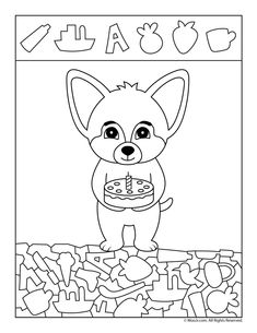 Birthday Cake Find the Item Printable