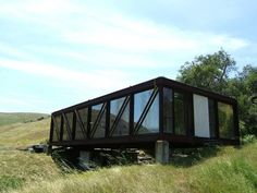 Poly Canyon Bridge House - My dad, Curt Holder, worked on this for his thesis project