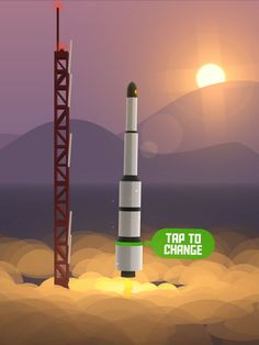 Space Frontier- Rocket and Mars simulation game in android and apple app stores