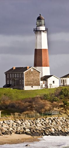 The lighthouse at the hotel was modeled after the famous Montauk Lighthouse a short drive away. ★。☆。JpM ENTERTAINMENT ☆。★。