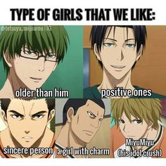 Shutoku's type!! Are you the one that they looking for?? XD . I'm all except…