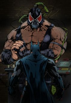 Bane - I like him a lot more as a villain in the comics in retrospect.