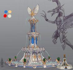 ArtStation - Warhammer Age of Reckoning Shield, Michael Phillippi