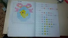 Uovo di Pasqua School Border, Color By Numbers, Pixel Art, Art For Kids, Coding, Education, Creative, Google, Image